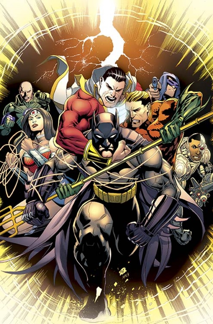 Cover di Batman & Robin #33