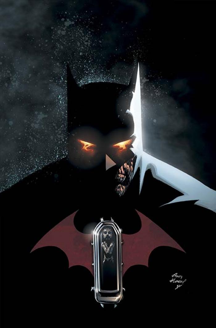 Cover di Robin Rises: Omega #1