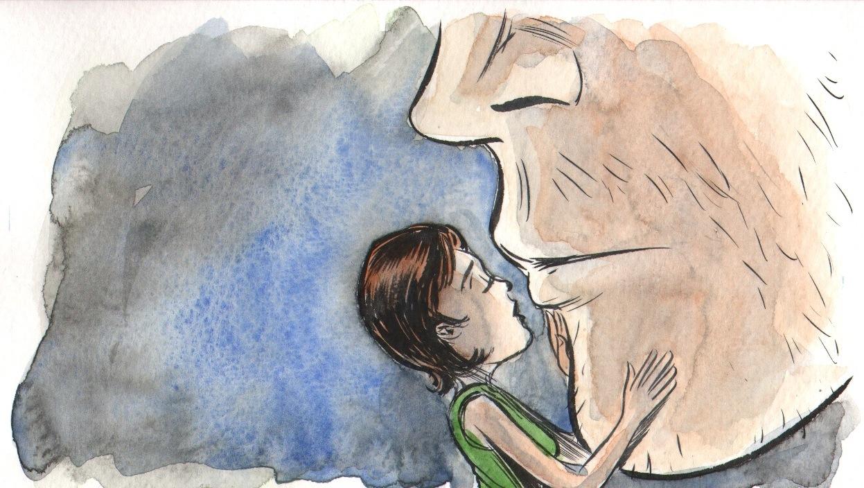3 piani la storia segreta dell 39 uomo gigante di matt kindt for Piani di caverna dell uomo