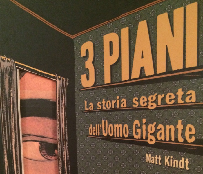 Recensione 3 piani la storia segreta dell 39 uomo gigante for Piani di caverna dell uomo