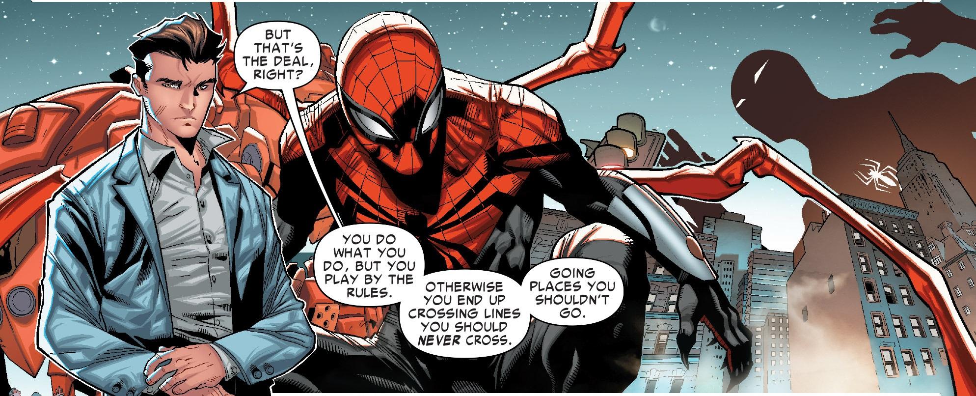Peter Parker parla dei limiti oltrepassati da Slott durante il suo periodo alla scrittura...